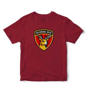 Camisetas granate