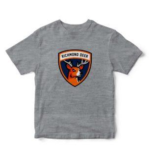 Camisetas gris jaspeado