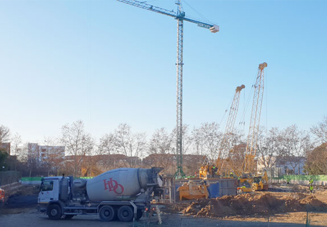 Construction of Richmond Park School