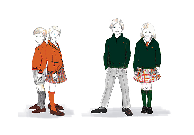 Neck&Neck designs Richmond's School Uniforms
