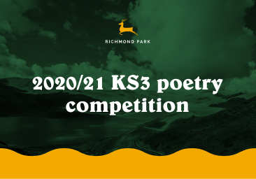 2020/21 KS3 poetry competition