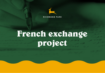 Year 7 and 8 French exchange project